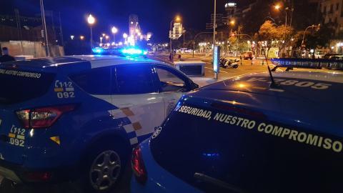 Coches de la Policía Local de Santa Cruz de Tenerife