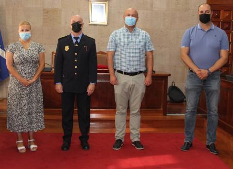 Ricardo Rivero toma posesión como subinspector de la Policía Local de Granadilla de Abona/ canariasnoticias