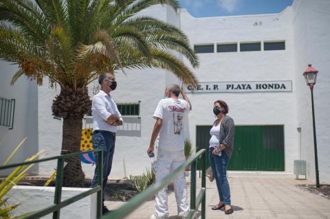 San Bartolomé pone a punto los colegios del municipio / CanariasNoticias.es