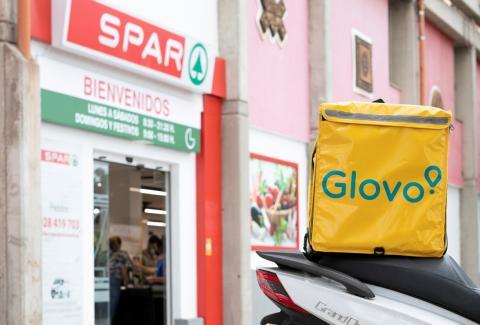 Spar Gran Canaria, pionera en la venta online con entrega inmediata a través de Glovo / CanariasNoticias.es