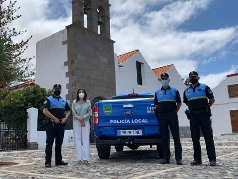 Presentación del vehículo para la Policía Local de Telde / CanariasNoticias.es