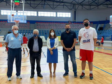 Visita al Polideportivo Rita Hernández en Telde / CanariasNoticias.es
