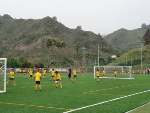 Campus de Fútbol de la UD Las Palmas en el Estadio del Pino / CanariasNoticias.es