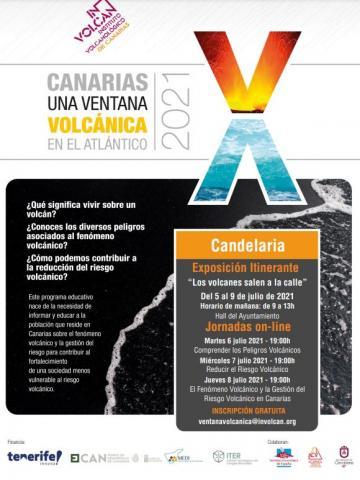 """""""Canarias, una ventana volcánica en el Atlántico"""". Candelaria/ canariasnoticias"""