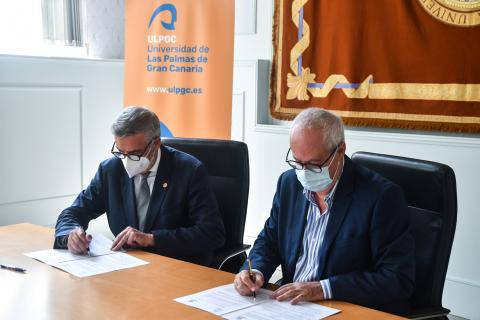 ULPGC y FENORTE firman un convenio marco de colaboración / CanariasNoticias.es