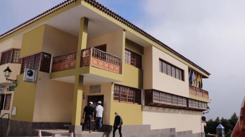 Ayuntamiento de Valleseco. Obras/ canariasnoticias