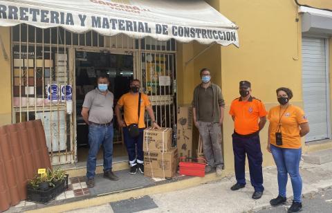 Protección Civil Valleseco renueva su material gracias a diferentes donaciones / CanariasNoticias.es
