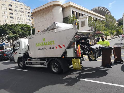 Limpieza. Santa Cruz de Tenerife/ canariasnoticias