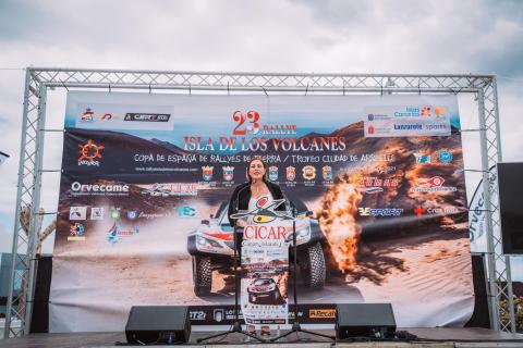 Presentación del XXIII Rallye Isla de los Volcanes - Trofeo Ciudad de Arrecife