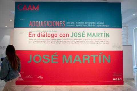 Exposición de pintor canario José Martín en el CAAM / CanariasNoticias.es