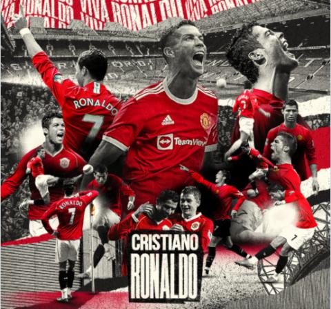 Cristiano Ronaldo firma contrato con el Manchester United