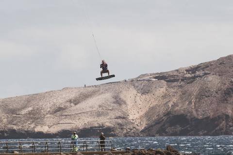 Kiteborading. Campeonato de España. Canarias/ canariasnoticias