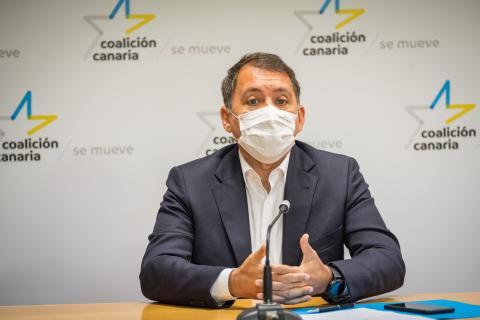 José Manuel Bermúdez, secretario de Políticas Insulares de CC Tenerife / CanariasNoticias.es