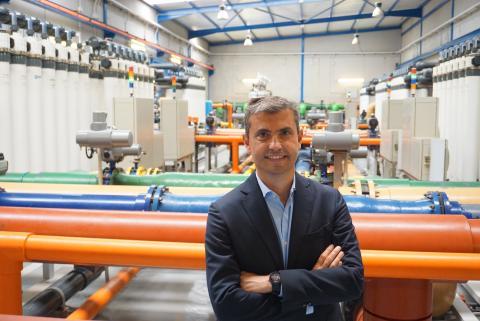 Juan Carlos González, director general de ELMASA Tecnología del Agua