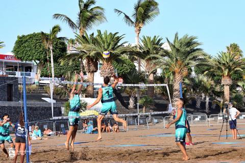 Voley Playa Lanzarote / CanariasNoticias.es