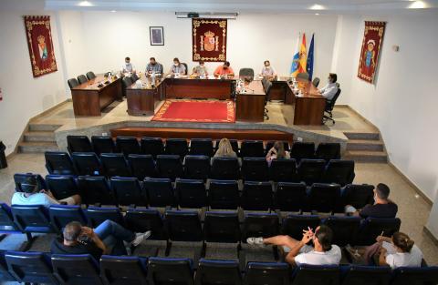 Pleno del Ayuntamiento de Mogán / CanariasNoticias.es