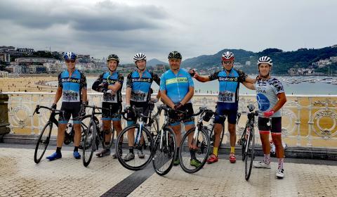 Participantes de el desafío '8 islas, 8 maratones. Regala vida'