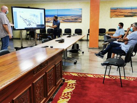 Presentación del Proyecto de Conectividad Rodonal de la Casa El Portón, La Iglesia y la calle vieja de Antigua