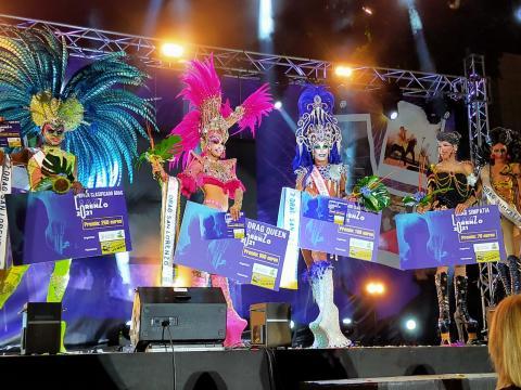 San Lorenzo proclama a Drag Ármek como ganador de la primera gala tras la pandemia