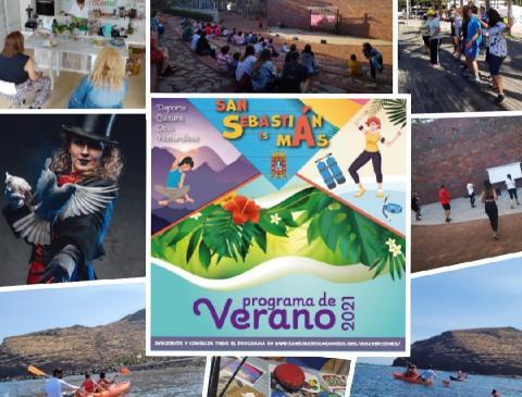 programa de verano 2021 'San Sebastián es más'