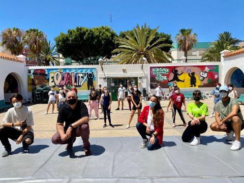 Concluye el campus 'Vive tu verano con movimiento' de Telde / CanariasNoticias.es