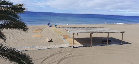 Playa Grande en Tías (Lanzarote) / CanariasNoticias.es