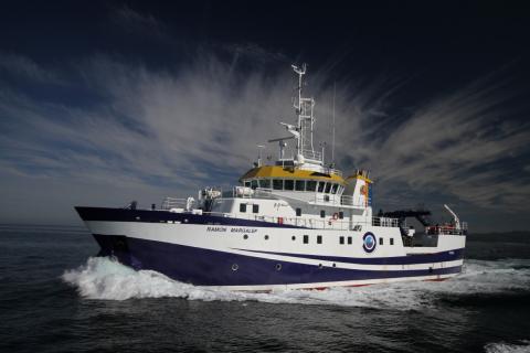 buque oceanográfico Ramón Margalef