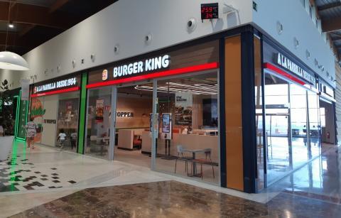 Burger King en el CC El Mirador en Las Palmas de Gran Canaria