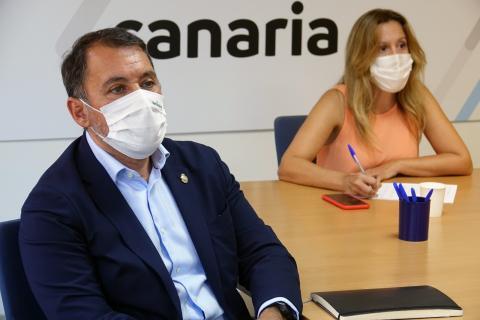 José Manuel Bermúdez y Rosa Dávila (CC Tenerife) / CanariasNoticias.es