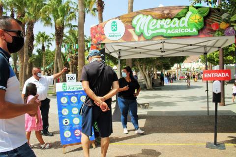 Mercado Agrícola. Antigua/ canariasnoticias