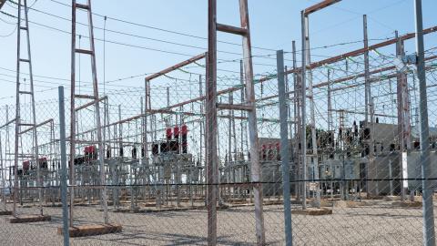 Central eléctrica en Teruel