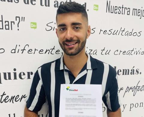 Uno de los beneficiarios de las ayudas de Fundación DinoSol / CanariasNoticias.es