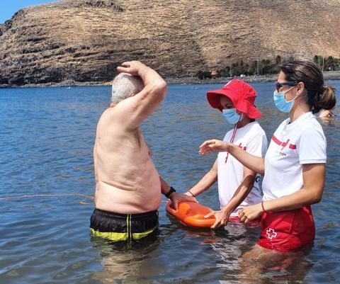 Baño adaptado en playas de San Sebastián de La Gomera / CanariasNoticias.es