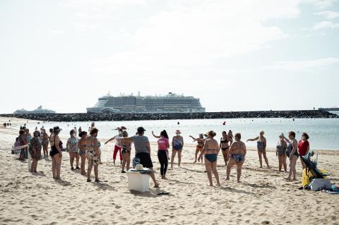 Programa Mujeres a La Playa de La Laguna / CanariasNoticias.es