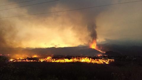 Erupción volcánica en La Palma
