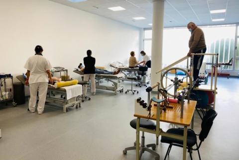 Servicio de fisioterapia en el Hospital de La Palma / CanariasNoticias.es