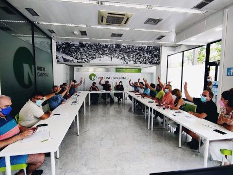 Ejecutiva de Nueva Canarias/ canariasnoticias