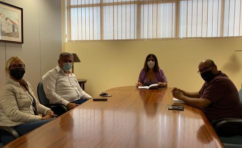 Reunión de Carmen Hernández en La Herradura / CanariasNoticias.es