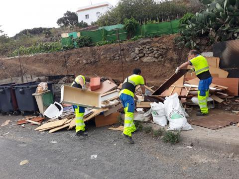 Trabajadores de limpieza. Las Palmas de GRan Canaria/ canariasnoticias