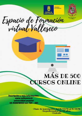 Escuela Virtual de Formación de Valleseco (Gran Canaria)