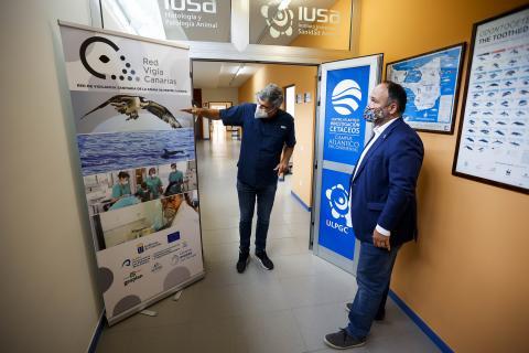 José Antonio Valbuena visita Red Vigía Canarias / CanariasNoticias.es