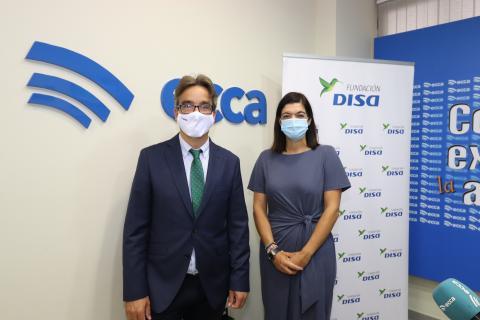 Fundación DISA y Radio ECCA renuevan su acuerdo / CanariasNoticias.es