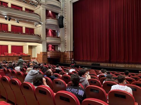 Estudiantes en el Teatro Pérez Galdós / CanariasNoticias.es