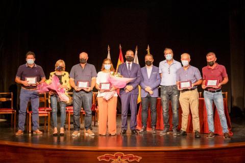 El alcalde de Guía preside el acto de homenaje de trabajadores municipales / CanariasNoticias.es