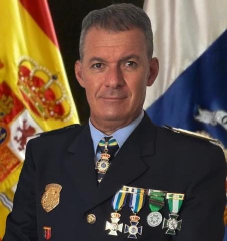 Jorge Alemán, jefe de la Policía Local de Mogán