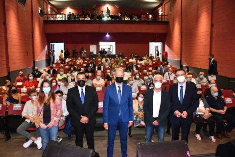 Apertura del Auditorio Francisco Álvarez Abrante en La Orotava / CanariasNoticias.es