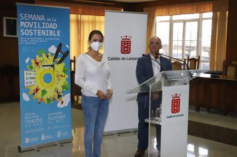 Presentación de la Semana de la Movilidad en Lanzarote / CanariasNoticias.es