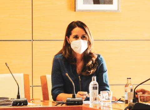 Lola García, Consejera de Hacienda y Promoción Económica/ canariasnoticias