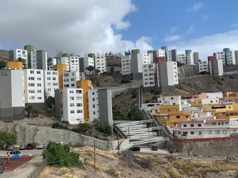 Obras de mejora y accesibilidad de las viviendas de El Lasso / CanariasNoticias.es