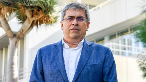 Marco Aurelio Pérez, portavoz del Grupo Popular en el Cabildo de Gran Canaria